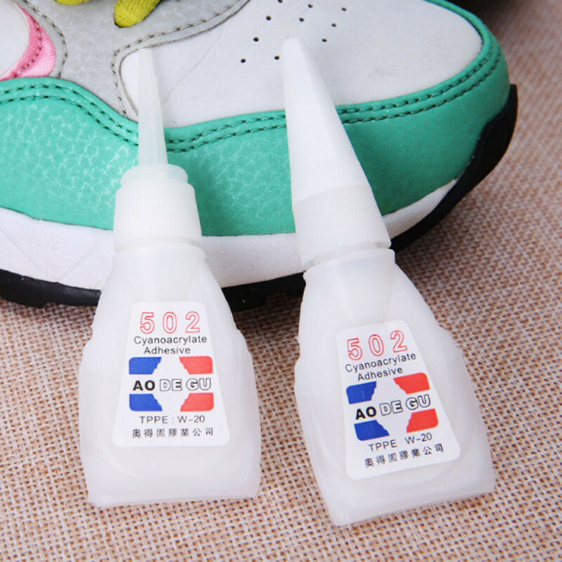 Super Glue Cyanoacrylate Instant Adhesive Strong Adhesion Fast Repair 502 9