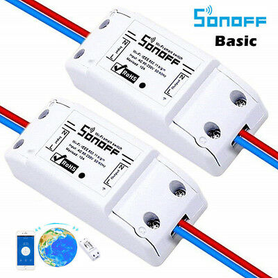 BULK BUY Sonoff Smart Home WiFi Wireless Switch Module for Apple Android APP DIY 2
