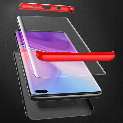 Thin Shockproof Slim Case + Screen Protector For Samsung Galaxy S10/S9/S8 Plus 6