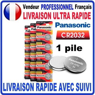 Pile CR2032 Lithium 3V PANASONIC Pile bouton 2