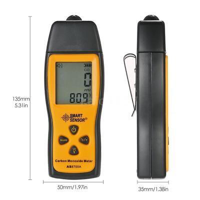 SMART SENSOR Handheld LCD Carbon Monoxide Meter CO Tester Monitor Detector Gauge 5