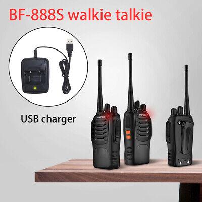 2x Walkie Talkie BF-888S UHF 400-470MHz 5W 16CH Portable Two-Way Radio AU Stock 3