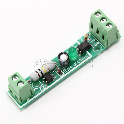 for PLC AC 220V 1-Bit Optocoupler Isolation Module Voltage Detect Board Adaptive 9