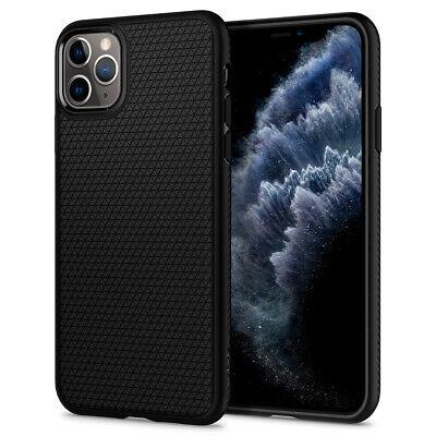 iPhone 11, 11 Pro, 11 Pro Max Case | Spigen® [Liquid Air] Matte Black Cover 2