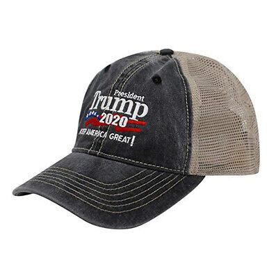 Donald Trump Republican 2020 Cap Adjustable Summer Hat Keep Make America Great 5