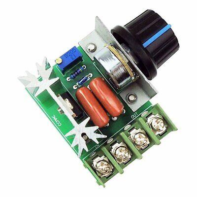 A22. Regolatore di velocità motore tensione regolabile PWM 2000w 50v-220v dimmer 5