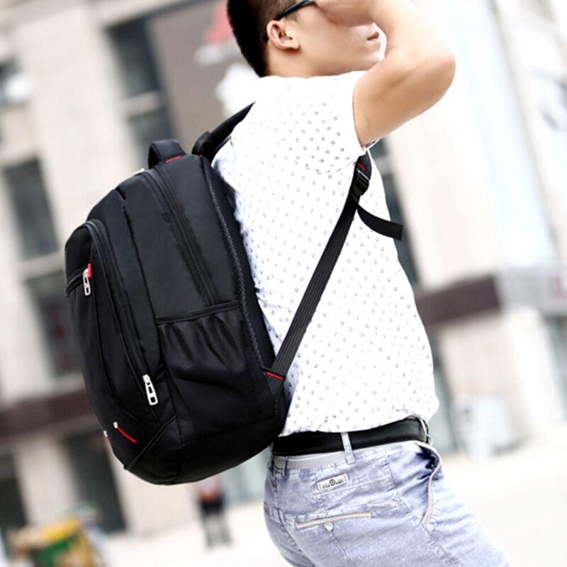 mans Boys Large Backpack Big Rucksack Fishing Sports Travel Hiking School Bag CA 3