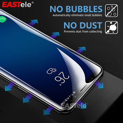 EASTele Samsung Galaxy S10 5G S9 S8 Plus Note 10+ 5G 9 HYDROGEL Screen Protector 8