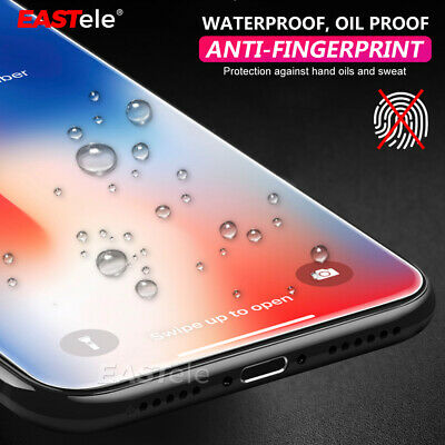 2x Apple iPhone XS Max XR X GENUINE EASTele Tempered Glass Screen Protector 6