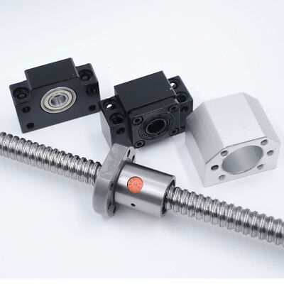 Rolled Ballscrew SFU1204 1605 1610 2005 2010 2505 2510 3205 3210&Ballnut CNC Kit 4
