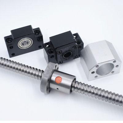 Rolled Ballscrew SFU1204/1605/2005/2505/3205&Ballnut&End Support CNC Machine Kit 4