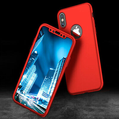 For iPhone 11 6s 7 8 5s Plus XR XS Case Shockproof360 Bumper Hybrid Phone Cover 4