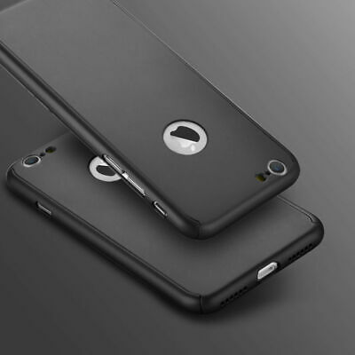 Case for Apple iPhone 6 7 8 5 SE Plus XS Cover 360 Luxury Thin Shockproof Hybrid 2