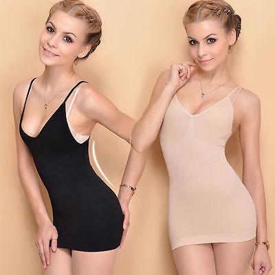 0b8f37f1d0 ... Women Slimming Tank Top Tummy Control Seamless Vest Cami Body Shaper  Shapewear 4