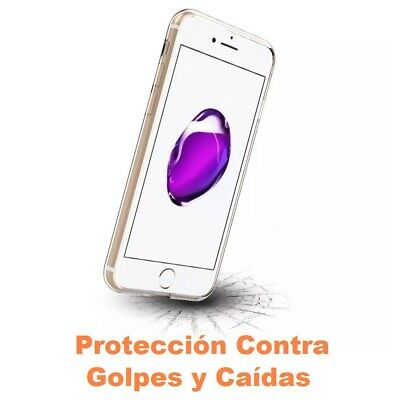 Funda Silicona para ALCATEL POP 4 PLUS Carcasa Transparente Protector s412 3