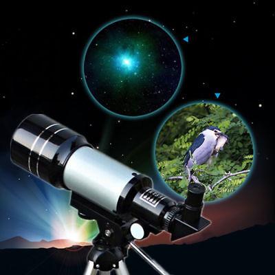 Telescopio Monoculare Astronomico Rifrangente Treppiede Cavalletto F300/70Mm 2