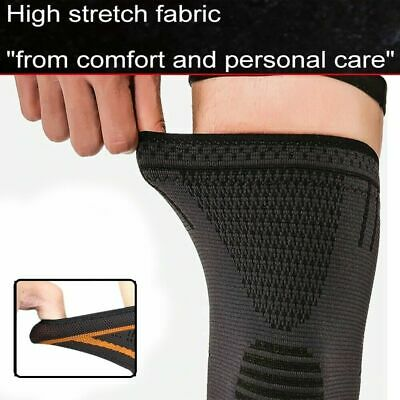 2Pcs Knee Sleeve Compression Brace Support For Sport Joint Pain Arthritis Relief 2