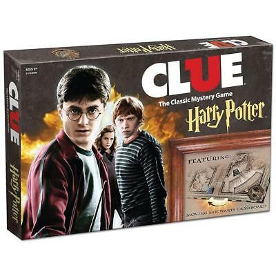 Clue Harry Potter  The Classic Mystery Board Game USAopoly +2 Bonus Cards 2