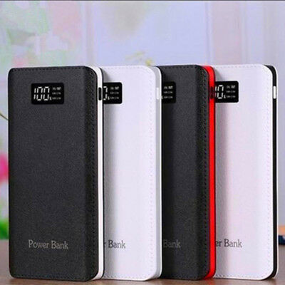 4 USB Fast Charging Greenest Portable Power Bank 500000mAh LED Battery Charger 9
