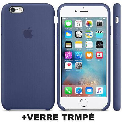 Cover Coque iPhone 6 7 8 Plus Xr Xs MAX X Slim Protection + Film Verre trempé 6