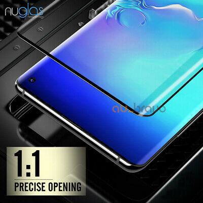 NUGLAS 3D Tempered Glass Screen Protector For Samsung Galaxy S10e S10 S10 Plus 9