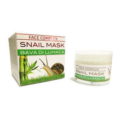 Face Complex Snail Mask Maschera Alla Bava Di Lumaca Per Il Viso Naturale 50 Ml 2