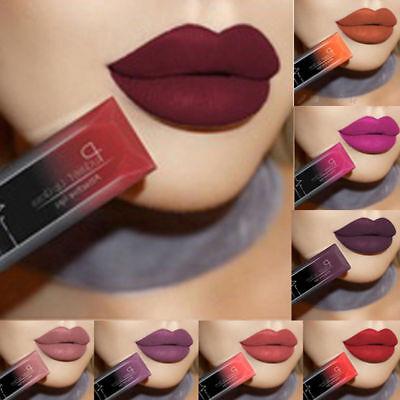 PUDAIER Makeup Waterproof Matte Velvet Liquid Lipstick Long Last Lip Gloss NV57 3