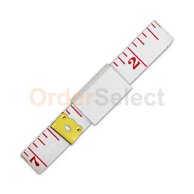 3X Body Measuring Ruler Sewing Cloth Tailor Tape Measure Soft Flat Ruler 60""