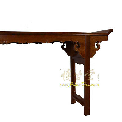 Chinese Vintage Carved Rosewood Altar Table 16LP88 5