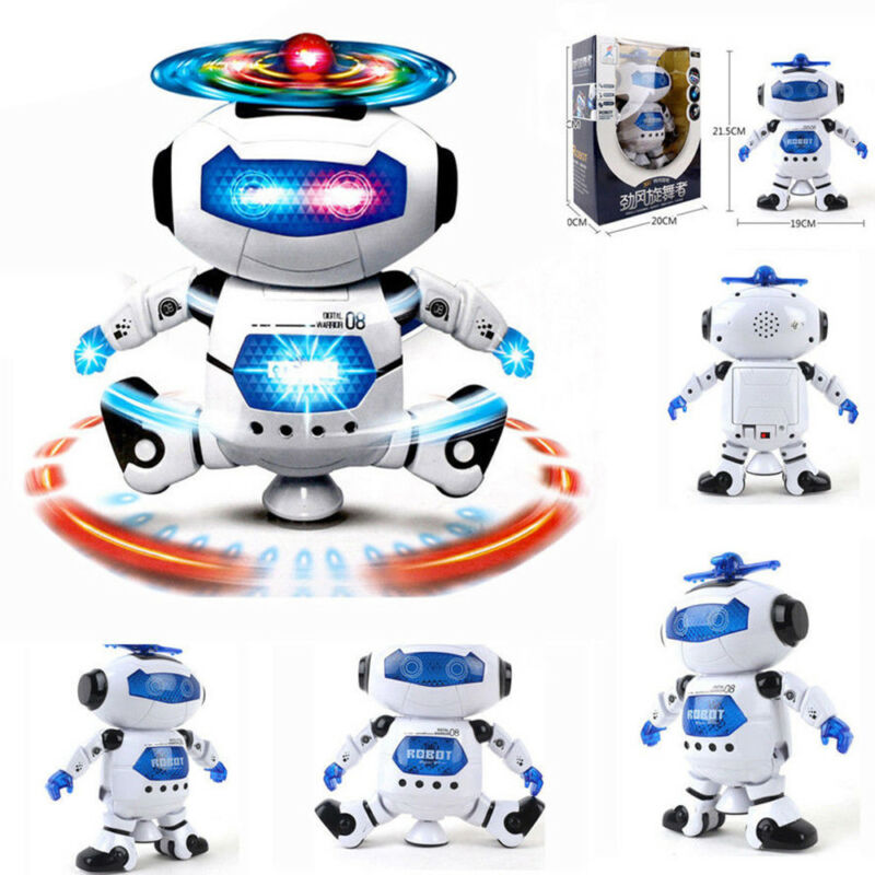 Toys For Boys Robot Kids Toddler 59 Year Old Age Toy Birthday Gift 2 Of 12