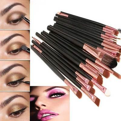 20pcs Makeup BRUSHES Kit Set Powder Foundation Eyeshadow Eyeliner Lip Brush NEW 5