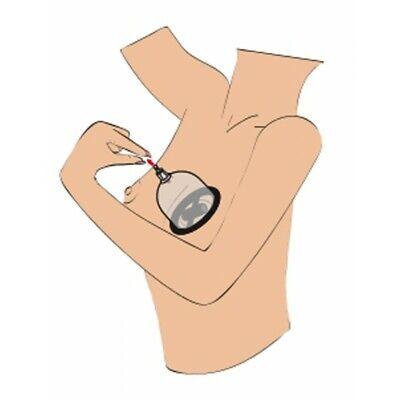 Stimolatore per seno tira capezzoli pompa per seno vibrante con vibrazione 7