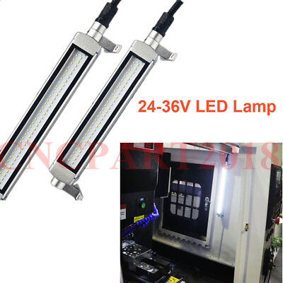 6000K CNC LED Work Lamp 10W Waterproof L380mm 24-36V Milling Machine Lighting 2