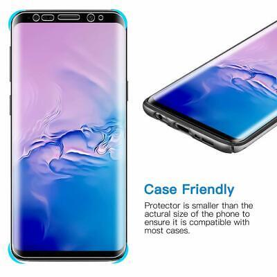 2x 3D Panzer Folie Samsung Galaxy S10 / Plus / Edge Display Schutzfolie TPU Klar 9