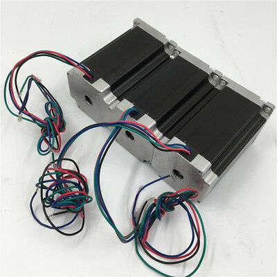 1pc Nema23 Stepper Motor L41-112mm 4Wire 1.8degree Angel for CNC Router Machine 6