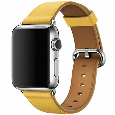 Leather Band Bracelet Strap For Apple Watch Series 4 3 2 1 38mm/40mm/42mm/44mm 10