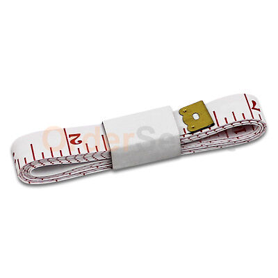 """2X Body Measuring Ruler Sewing Cloth Tailor Tape Measure Soft Flat 60"""" /150cm"""