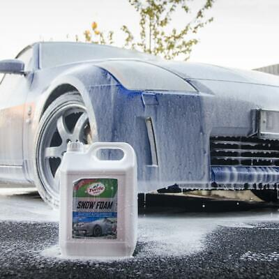 Turtle Wax Snow Foam Car Shampoo 5 Litre 2