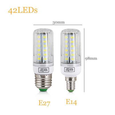 E27 E14 LED MAZORCA Bombilla 45w 30w 25w 20w 15w 12w 7w luz 5730SMD 12