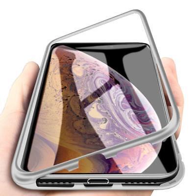 Cover Magnetica Alluminio Custodia Apple iPhone 6 Vetro Temperato 9H