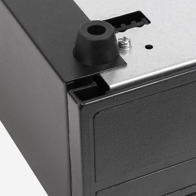 Electronic/Manual Security Lockable Cash Box Tray Money Drawer Safe Storage Keys 12
