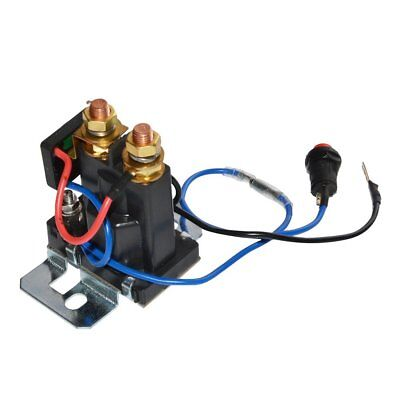 12V 200 AMP Dual Battery Isolator Auto Battery Emergency Switch Controller Relay 7