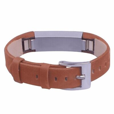 For Fitbit Alta / Alta HR Genuine Leather Watch Replacement Band Wrist Strap UK 10