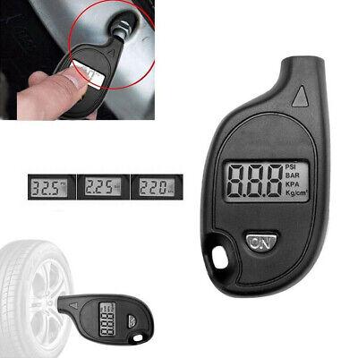 Portable Tire Pressure Guage Digital Air Checker Car Bike Truck LCD Display 7