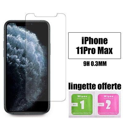Vitre verre trempe film de protection d'écran iPhone SE/6S/7/8/X/XR/11/Pro Max 8