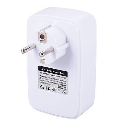 Enchufe Domotica Temporizador Wifi Remoto Smart Inteligente Con Interruptor 10