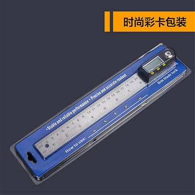 Digital Electronic Protractor Angle Finder Miter Goniometer Gauge Ruler 200mm 5