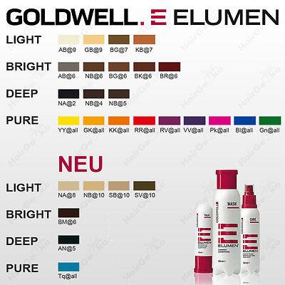 Elumen alle haarfarben