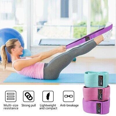 EVO Ladies Elastic Legs Exercise Resistance Bands & Expanders HIP CIRCLE Glute 5