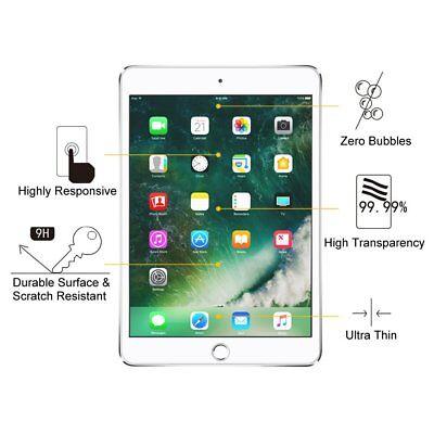 2X Tempered Glass Screen Protector Apple iPad 3 4 5 6 Air 1 2 Mini 1 2 3 4 Pro 6